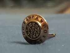 Pandora Stud Earring 14K Gold Vermeil Plated Sterling Silver, only worn once.