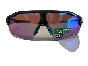 NEW! Oakley OJ9001-0331 RadarEV Path XS Steel/Prizm Golf Sunglasses (Youth Fit)