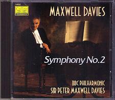 Peter MAXWELL DAVIES b.1934 Symphony No.2 COLLINS CD Sinfonie BBC Philharmonic