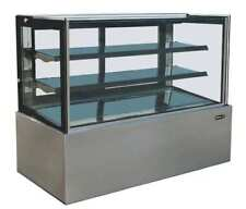 "Kool-it Kbf-36 36"" Refrigerated Flat Glass Bakery Deli Display Case Brand New!"