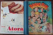 Radio Fun Annual  Vintage 1940 Hardback Performing Arts