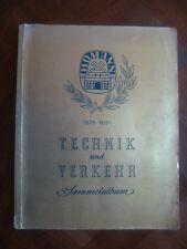 TECHNIK & VERKEHR-SAMMELALBUM~HOMANN 1876-1951~TECHNIQUE & LOCMOTION~200 IMAGES~
