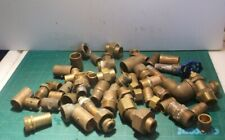 Assorted Brass Pipe Fittings