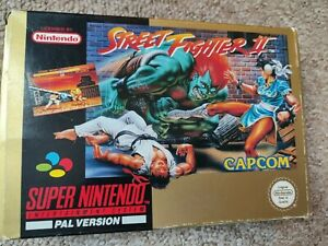 Street fighter 2 snes boxed