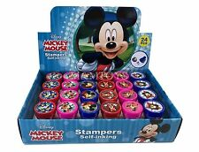 24PC Disney Mickey Minnie Mouse  Stampers Self-Inking Birthday Party Favors