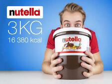 Nutella 3 kg (6.6 lb) Huge bucket Hazelnut Spread LOWEST PRICE EVER
