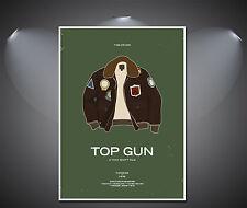 Top Gun Vintage Art Deco Poster - A1, A2, A3, A4 sizes