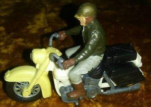 Vintage 1970's Britains LTD U.S.Sheriff Harley Davidson Motorcycle Toy