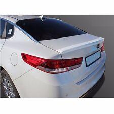 New Rear Trunk Wing Lip Spoiler Space for Kia All New Optima 2016+ White