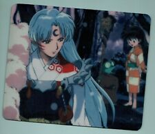 "InuYasha Mouse Pad - Great gift! ""Sess style"" Bonus 2 pins/buttons"
