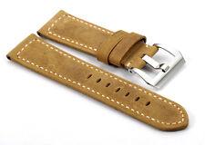 22mm Assolumates Marrone Vera pelle Braccialetto Cinturino per Panerai Luminor