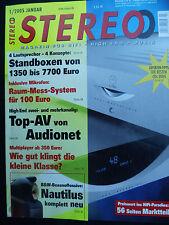 STEREO 1/05 TRANSROTOR RS,TANNOY EYRIS DC 3,ISOPHON CORVARA,T+A TCI 2E,CANTILENA