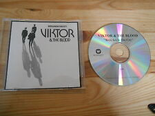 CD Pop Viktor & The Blood - Boys Are In The City (1 Song) Promo WARNER MUSIC sc