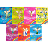 Rainbow Magic Pet Keeper Fairies Series Collection 7 Books Box Set Penny the Pon