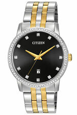Citizen BI5034-51E Men's Two Tone Stainless Steel Swarovski Accented Watch