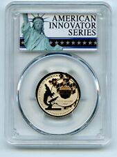 2019 S $1 American Innovation Dollar Reverse Proof PA Polio PCGS PR70 FS Exclusi