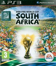 2010 FIFA World Cup South Africa Sony Playstation 3 PS3 3+ Football Game