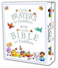 Candle Prayers for Toddlers and Candle Bible for Toddlers by Juliet David CG10