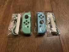 Genuine Official Nintendo Switch ANIMAL CROSSING EDITION Joy-Con Set - NEW!