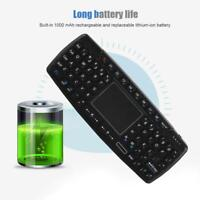 Wireless Backlight Keyboard 69 Keys with Touchpad For PC Laptop Tablet Phone L2S