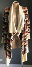 Multi Colour & PrInt JESSICA LONDON Waterfall/Drape Cardigan Plus Size 22/24