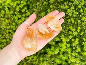 Large Raw Citrine Stone (Rough Citrine Crystal)
