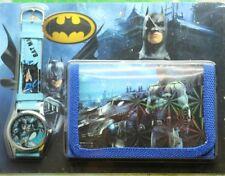 Batman Children's Watch Wallet Set For Kids Boys Girls Christmas Gift