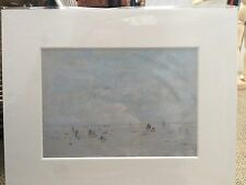 L.S Lowry Print In Mount - Great Gift Idea