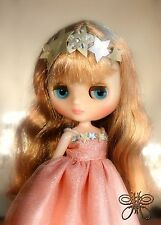 Free Shipping Middie Blythe Doll Bubbly Bliss Takara Sister Champagne Allegra