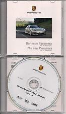 Dvd ufficiale official porsche presentazione panamera 2009