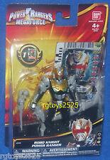 "Power Rangers Megaforce Robo Knight 4""  Power Ranger New Factory Sealed 2013"