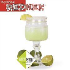 Original Rednek Margarita Glass Redneck Mason Ball Jar Lid Stem 16 oz barware