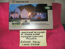 DISCOVERY OR RANGE ROVER HOMELINK LIGHTING PACKAGE BRAND NEW STILL IN THE BOX