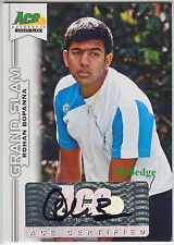 2013 Ace Grand Slam Tennis Auto: Rohan Bopanna - Autograph Top 3 Doubles Player