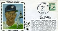 Lee Macphail Yankees Signed Jsa Cert Sticker Fdc Authentic Autograph