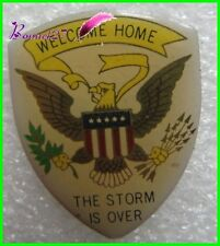 Pin's Welcome Home The Storm is Over avec aigle eagle #1360