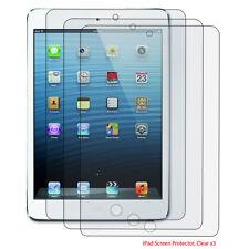3 pack Premium LCD Clear Screen Protector Guard Flim for Apple iPad 2 3 4 Gen