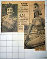 1953 Turkish Delight Ayten Akyol And A Little French Polish
