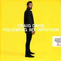 CRAIG DAVID Following My Intuition UK 14-trk numbered promo CD SEALED