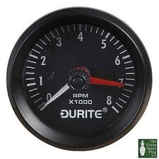 Durite - Compte-Tours Allumé 0-8000rpm Tr / Min 52mm 12 Volts Bx1 - 0-523-20