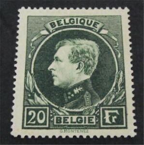 nystamps Belgium Stamp # 213 Mint OG NH $195   L23y102