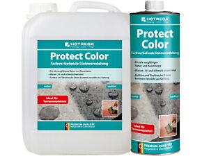 Hotrega Protect Color Steinverdelung Farbvertiefer Imprägnierung Naturstein