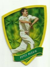 2009/10 Select Cricket Australia DIE CUT FDC16 BRYCE McGAIN TEST TEAM CARD ACB