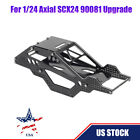 US Aluminum Alloy RC Car Upgrade Chassis Cover Shell For 1/24 Axial SCX24 90081