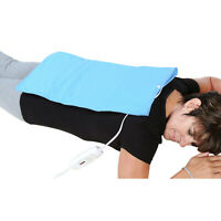 Extra Large Electric Heating Pad - King Size Moist or Dry Pain Relief Wrap