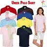 Uneek Unisex Jersey Poloshirt Soft Cotton Short Sleeve Plain Workwear Casual TOP