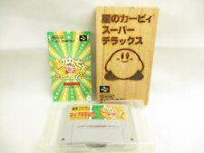 Star Kirby Super Deluxe Rif. / Ccc Super Famicom Nintendo Sf