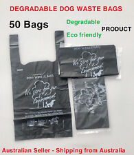 Degradable Dog Poo Poop Litter Waste Bags  Cleanliness_Odour Control
