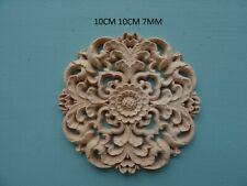 Decorative wooden circle centre applique furniture moulding CC95