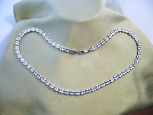 vintage collier silberkette 925 silber 48,5cm.lang